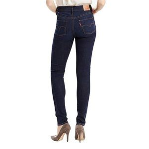 Levi Super Skinny Dark Wash Denim - Size 29